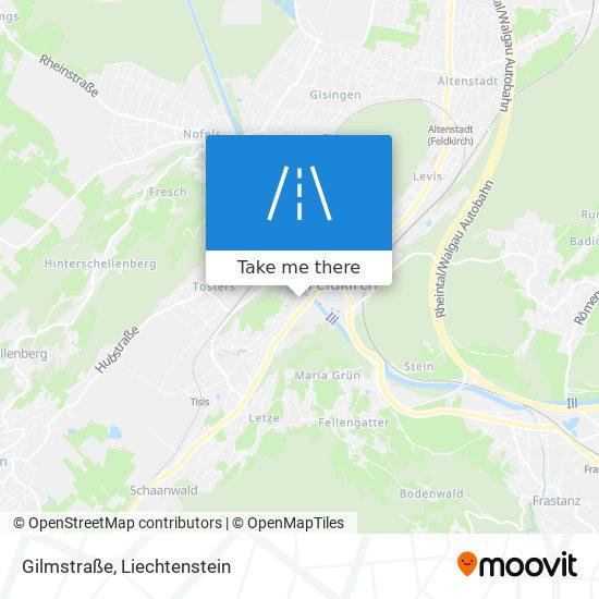 Gilmstraße map