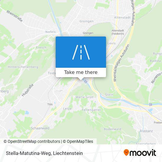 Stella-Matutina-Weg map