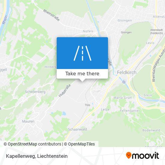 Kapellenweg map
