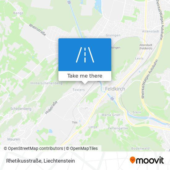 Rhetikusstraße map
