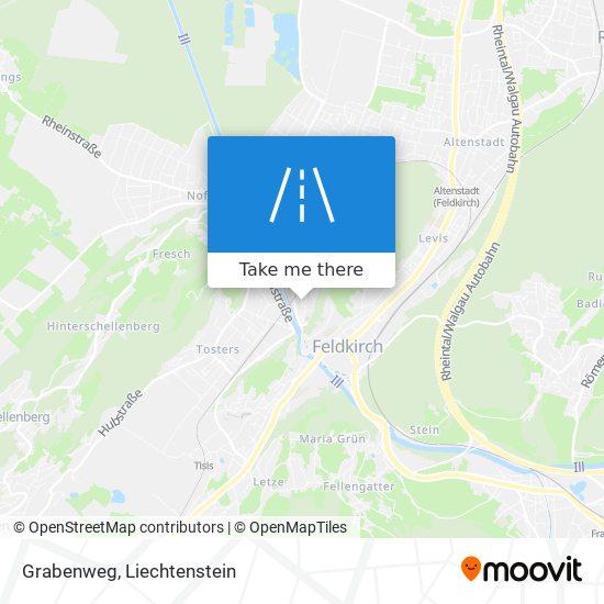 Grabenweg map