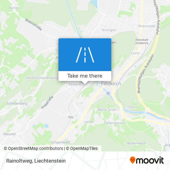 Rainoltweg map