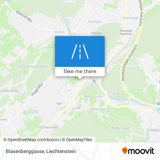 Blasenberggasse map