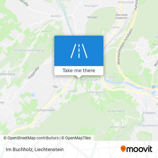 Im Buchholz map