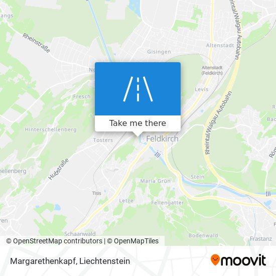 Margarethenkapf map
