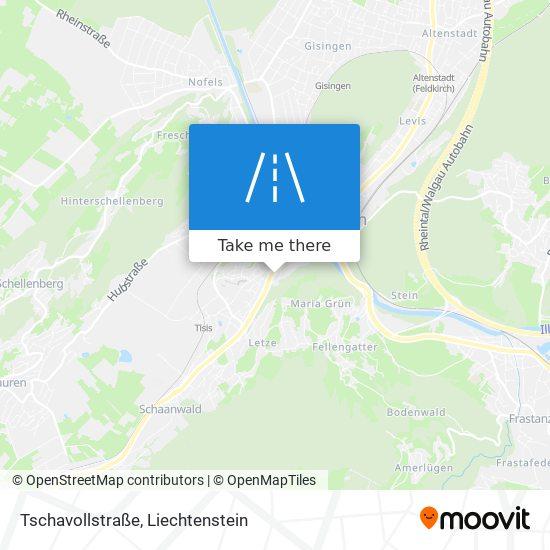 Tschavollstraße map