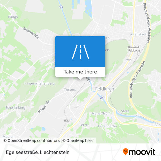 Egelseestraße map