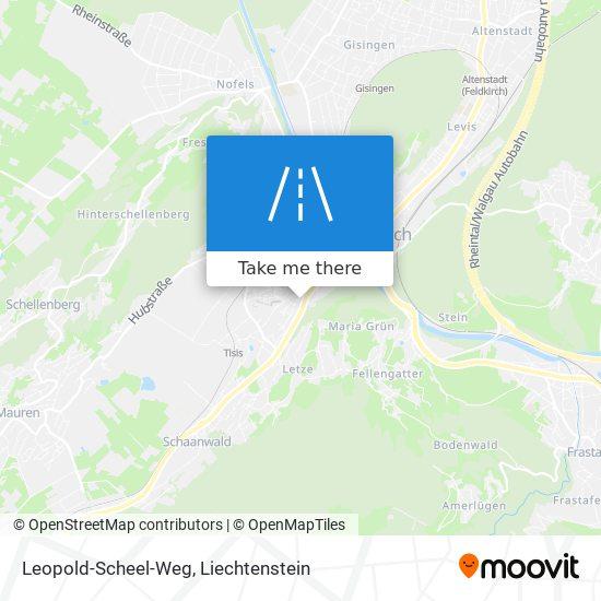 Leopold-Scheel-Weg map