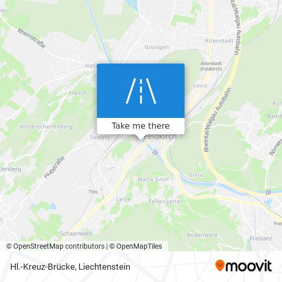 Hl.-Kreuz-Brücke map
