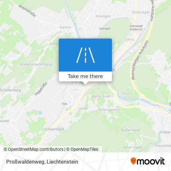Proßwaldenweg map