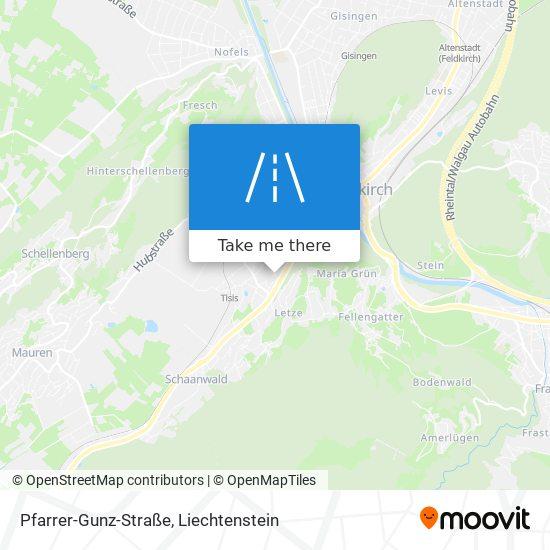 Pfarrer-Gunz-Straße map