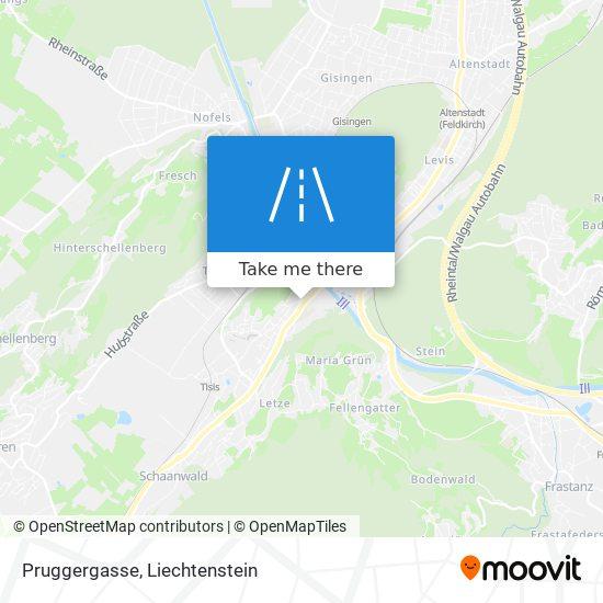 Pruggergasse map