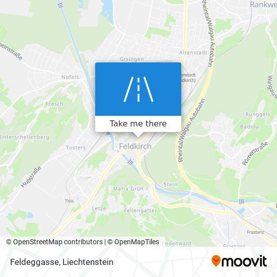 Feldeggasse map