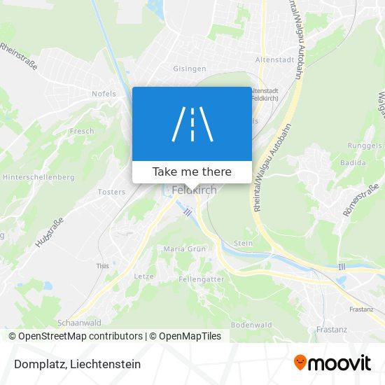 Domplatz map