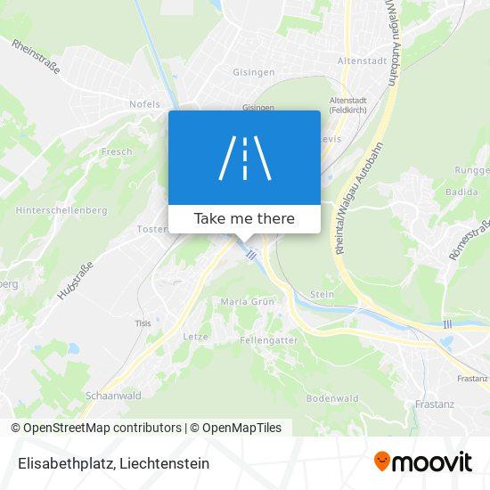 Elisabethplatz map