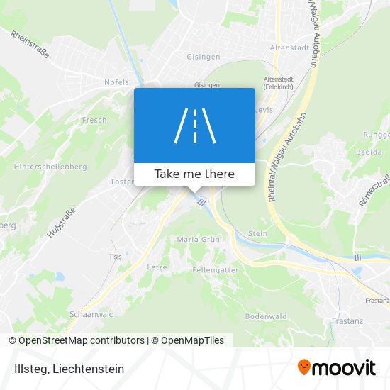Illsteg map