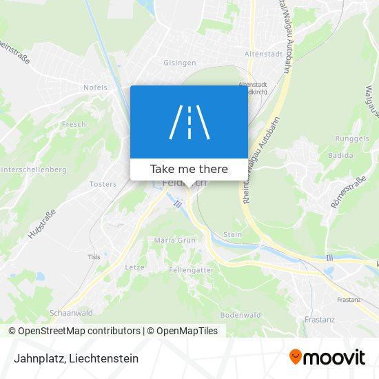 Jahnplatz map