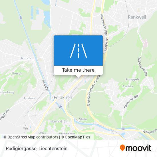 Rudigiergasse map