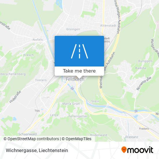 Wichnergasse map