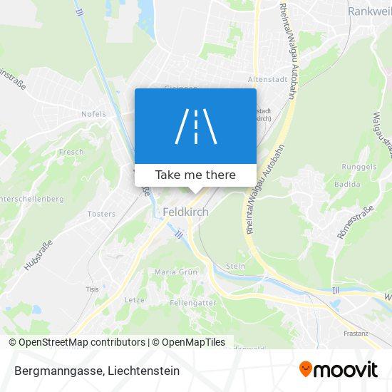 Bergmanngasse map