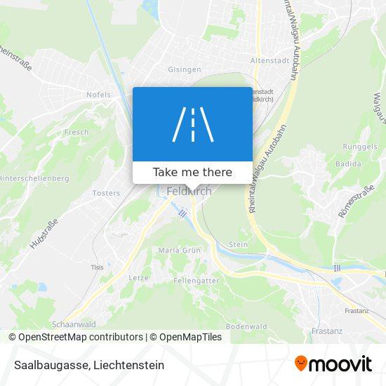 Saalbaugasse map