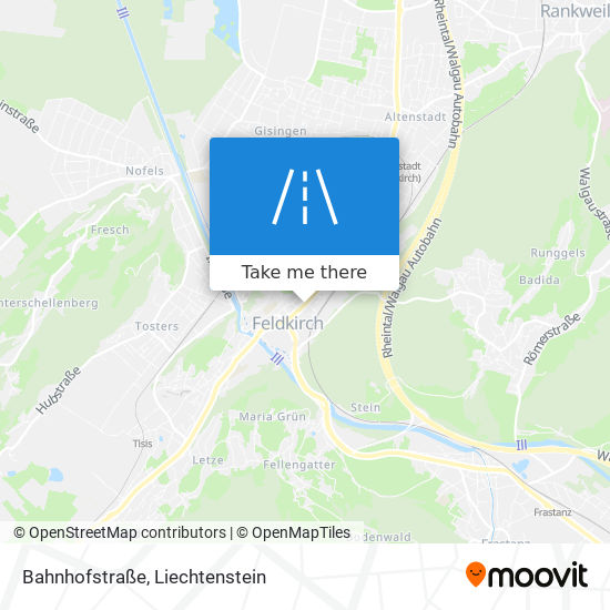 Bahnhofstraße map