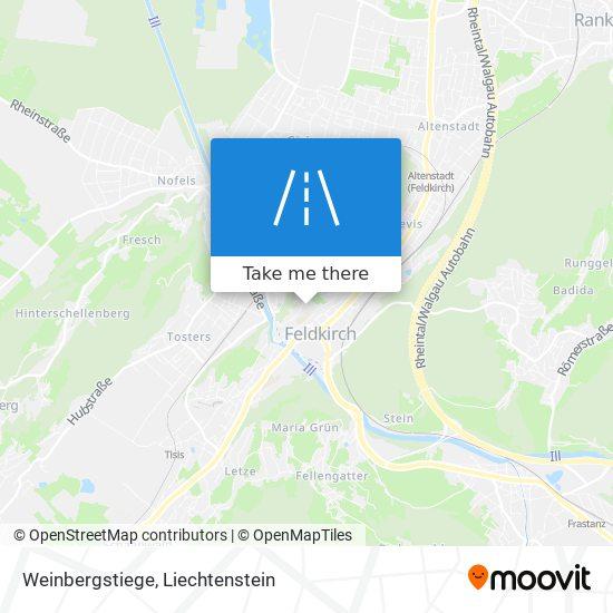 Weinbergstiege map