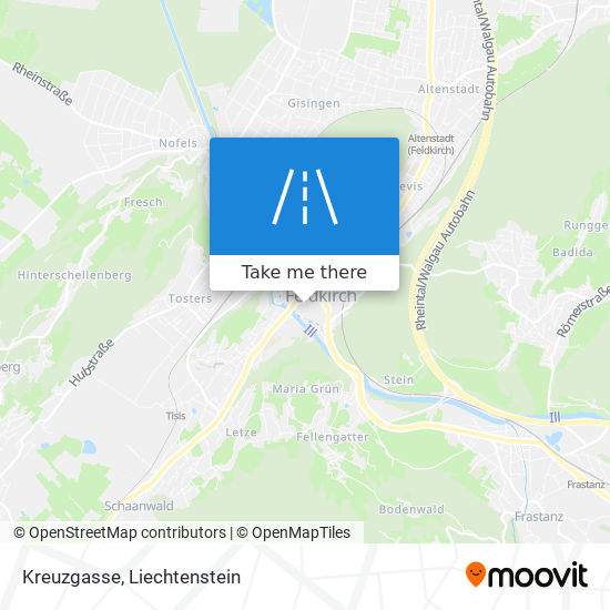 Kreuzgasse map