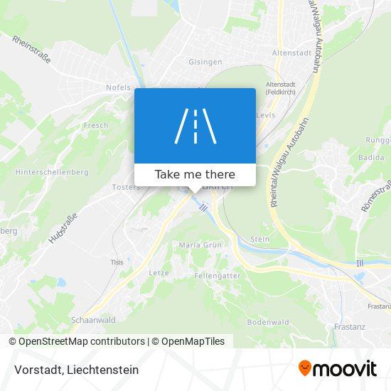 Vorstadt map
