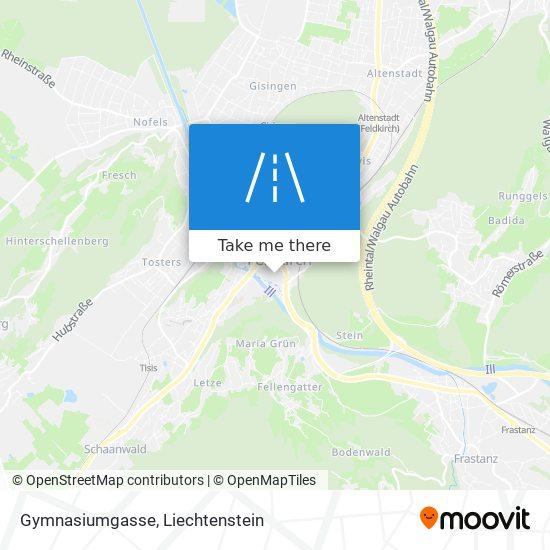 Gymnasiumgasse map