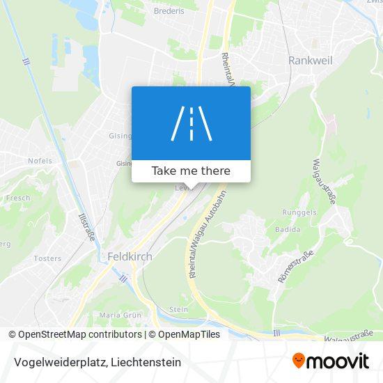 Vogelweiderplatz map