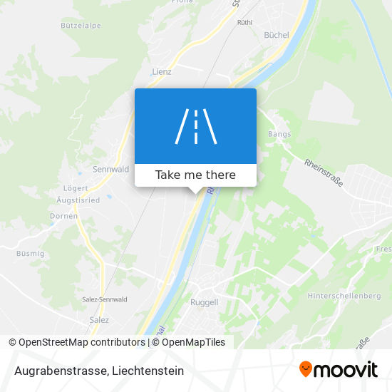 Augrabenstrasse map