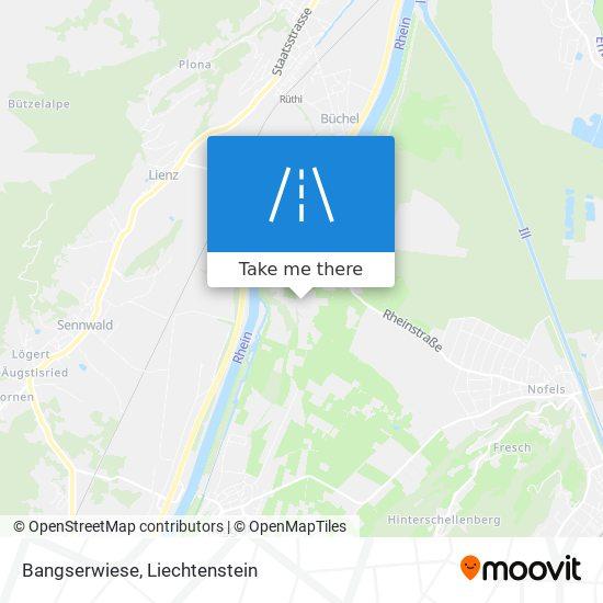 Bangserwiese map