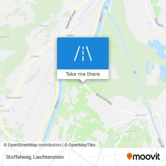 Stoffelweg map