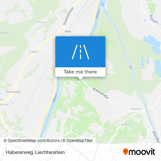 Habererweg map