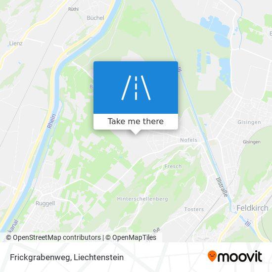 Frickgrabenweg map