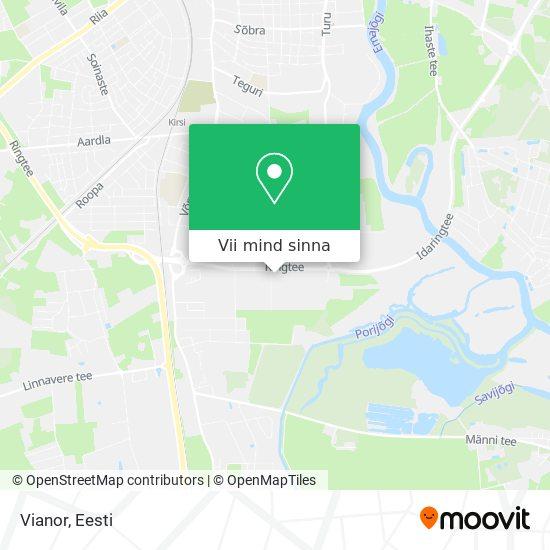 Vianor kaart