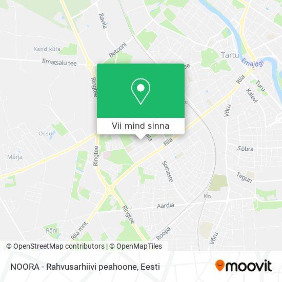 NOORA - Rahvusarhiivi peahoone kaart