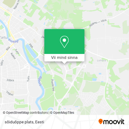 sõiduõppe plats kaart