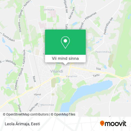 Leola Ärimaja kaart