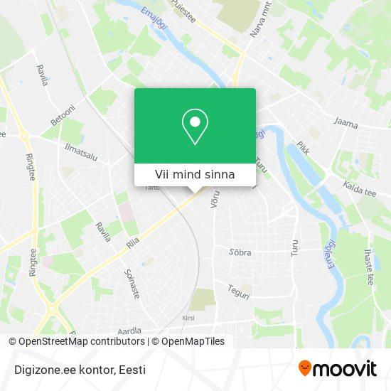 Digizone.ee kontor kaart