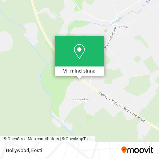 Hollywood kaart