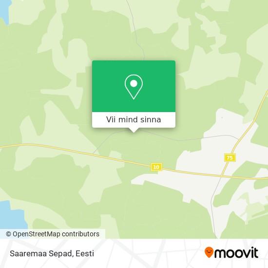 Saaremaa Sepad kaart