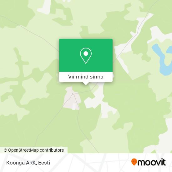 Koonga ARK kaart