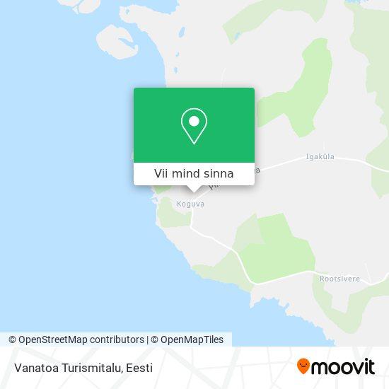 Vanatoa Turismitalu kaart