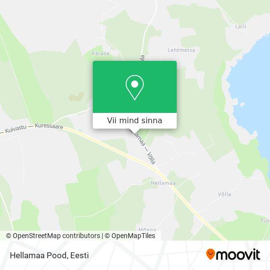 Hellamaa Pood kaart
