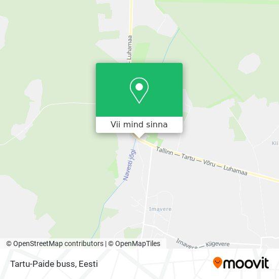 Tartu-Paide buss kaart
