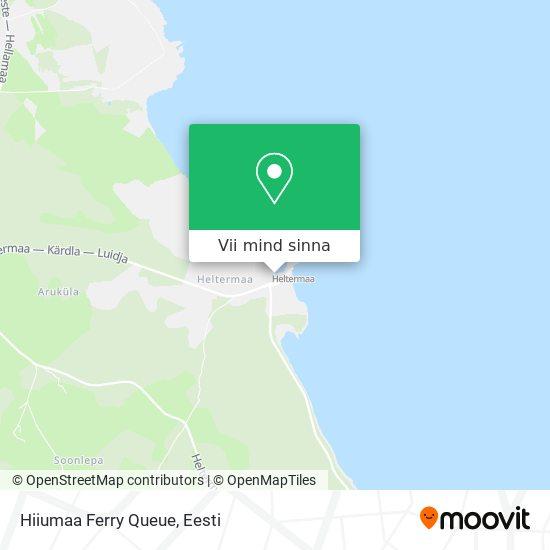 Hiiumaa Ferry Queue kaart