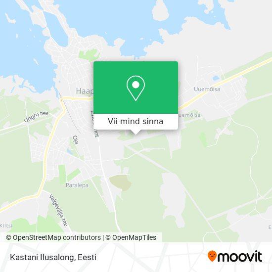 Kastani Ilusalong kaart