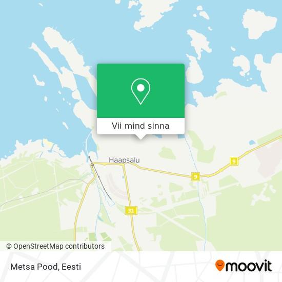 Metsa Pood kaart